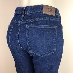 Ralph Lauren Classic Bootcut Denim Jeans Size 10P